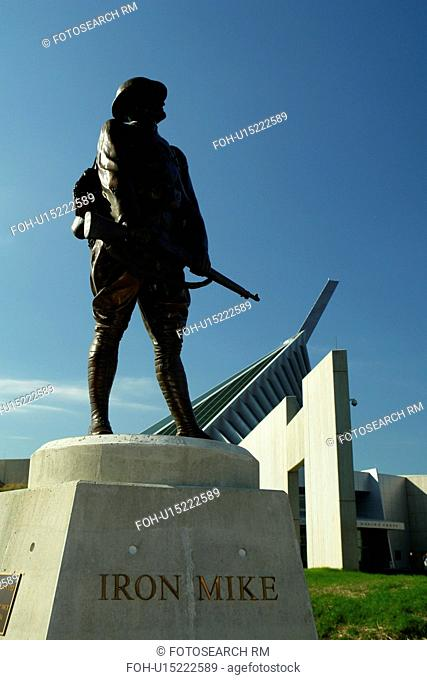 Triangle, VA, Virginia, Quantico, Washington DC, National Museum of the Marine Corps, Iron Mike Statue
