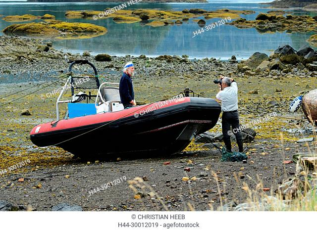 North America, Canada Canadian, British Columbia, Queen Charlotte Islands, West Coast, Haida Gwaii, Gwaii Haanas National Park Reserve and Haida Heritage Site