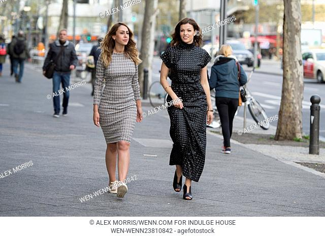 Ksenija Sidorova and Melissa Khalaj on a shopping tour at Bikini Haus. Featuring: Melissa Khalaj, Ksenija Sidorova Where: Berlin