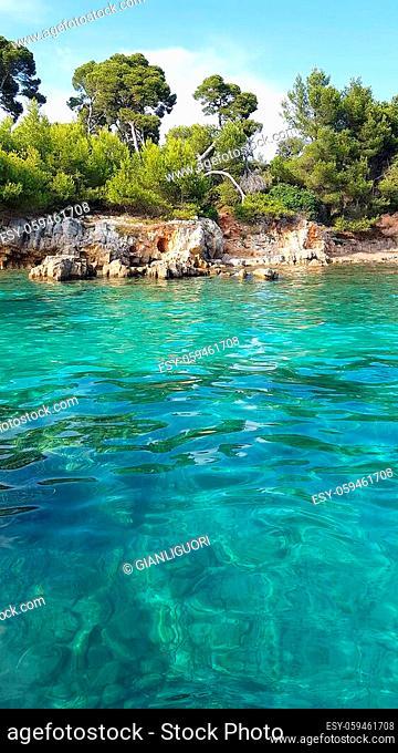 Sainte Marguerite island, Lerins islands, South of France