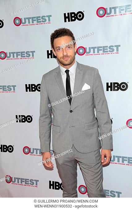 Outfest Los Angeles LGBT Film Festival at the Orpheum Theatre - Photocall Featuring: Ross Marquand Where: Los Angeles, California