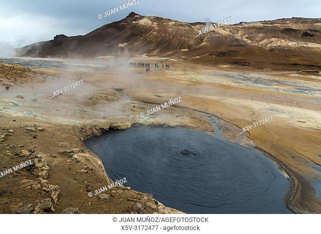 Hverir. Devil's Kitchen. Northeastern Region. Iceland
