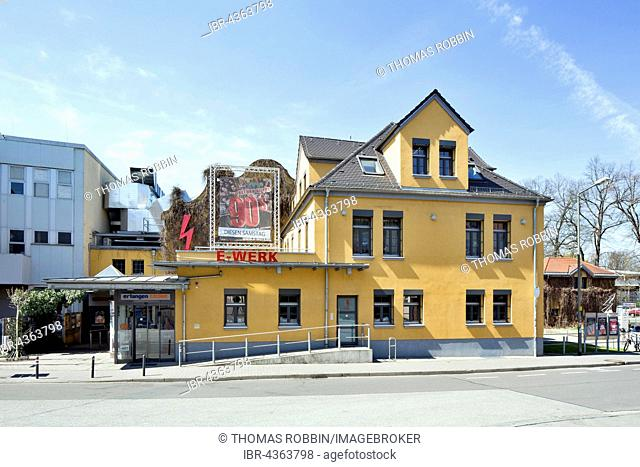 cultural center E-Werk, Erlangen, Middle Franconia, Bavaria, Germany
