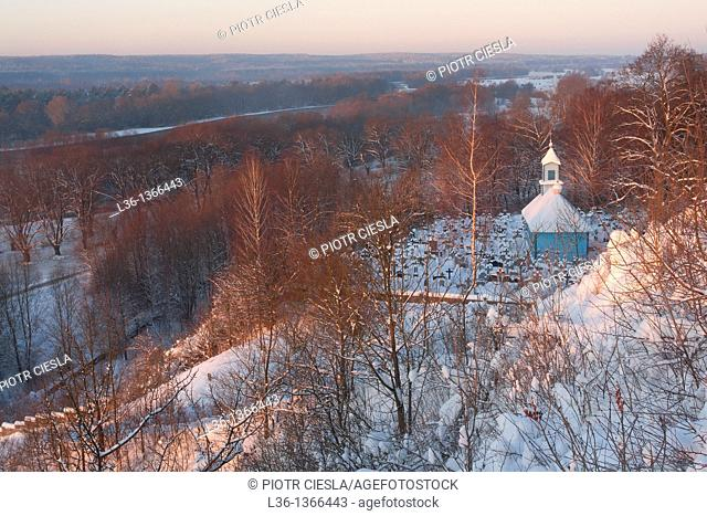 Cementary chapel in Mielnik  Eastern Poland
