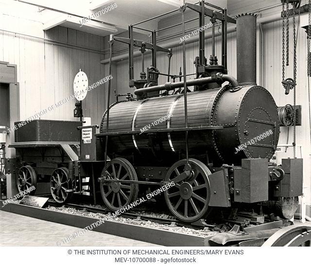 Stephenson?s ?Killingworth? locomotive, c.1830