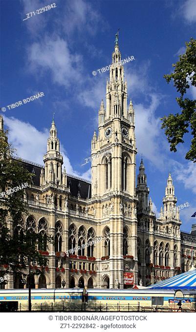 Austria, Vienna, Neues Rathaus, New City Hall