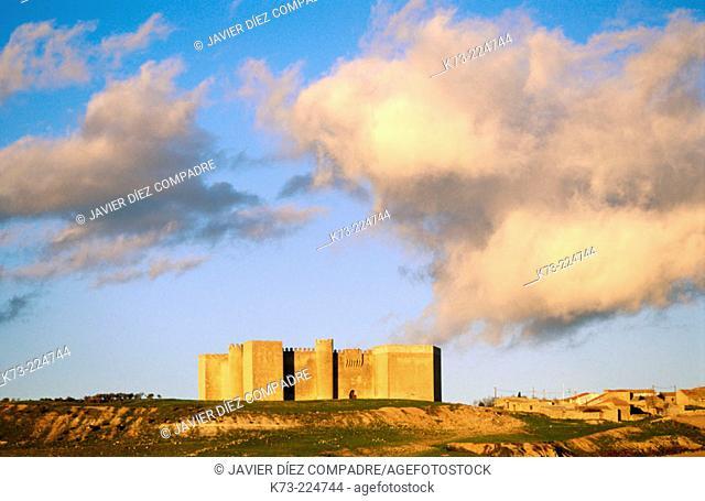 Montealegre Castle. Valladolid province. Castilla y León. Spain
