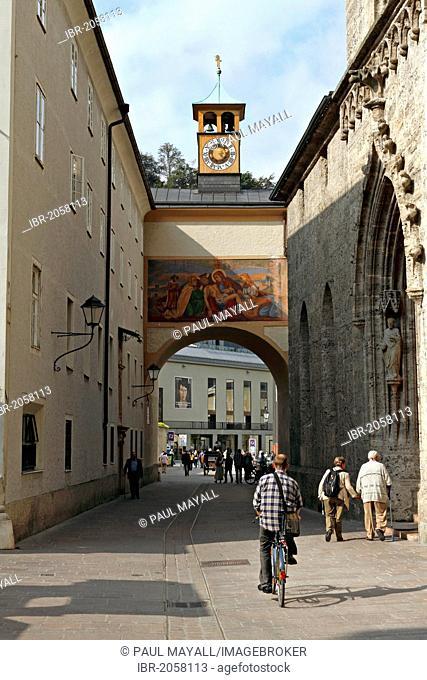 Passage near Saint Peter's Abbey, Salzburg, Austria, Europe