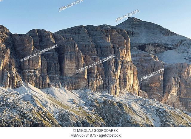 Europe, Italy, Alps, Dolomites, Mountains, Sella - Piz Boe