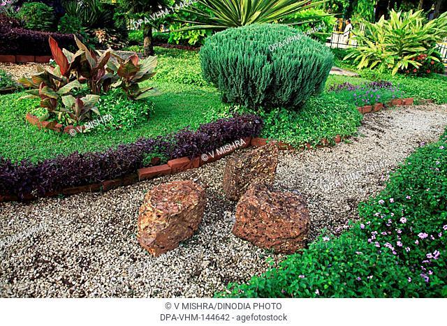 Street garden park at Vatsala Bai Desai chowk ; Bombay now Mumbai ; Maharashtra ; India