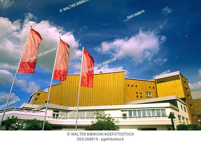 Philarmonie, new building of the Berlin Philharmonic Orchestra. Berlin. Germany