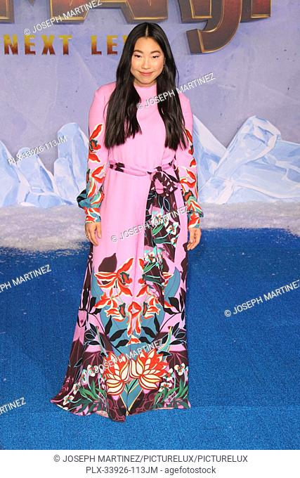"""Awkwafina at Sony Pictures' """"""""Jumanji: The Next Level"""""""" World Premiere held at the TCL Chinese Theater in Hollywood, CA, December 9, 2019"""