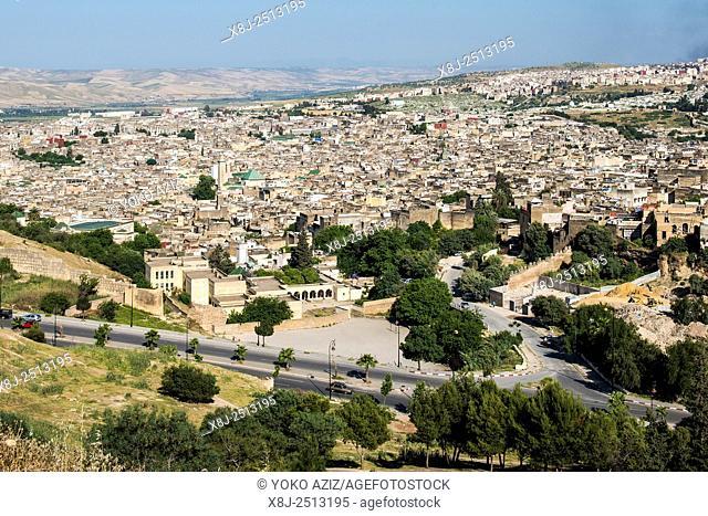 Morocco, Fes, landscape