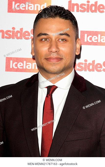 Inside Soap Awards 2014 held at the DSTRKT London - Arrivals Featuring: Ricky Norwood Where: London, United Kingdom When: 01 Oct 2014 Credit: WENN.com