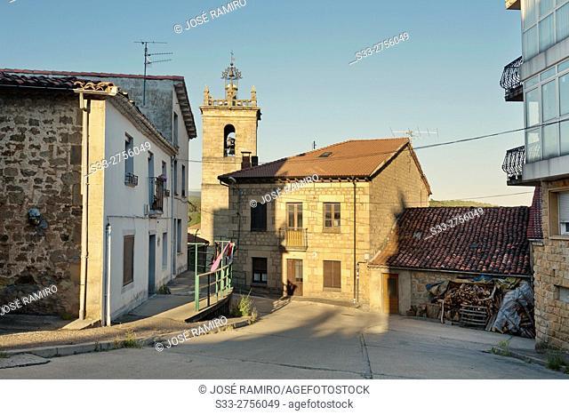 Church in Quintanar de la Sierra. Burgos. Castilla León. Spain