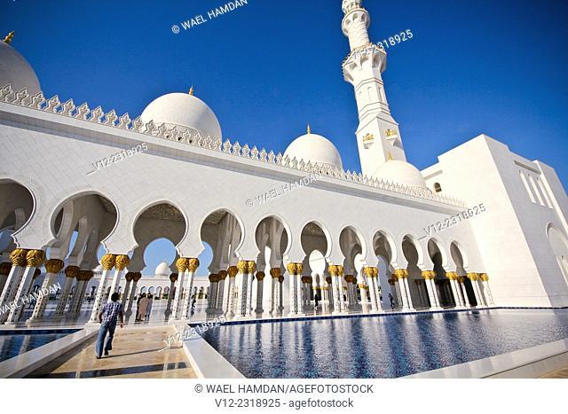 Sheikh Zayed bin Sultan al-Nahyan Mosque, Abu Dhabi, United Arab Emirates