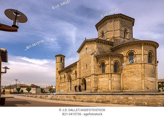 Spain, Castilla-Leon, Palencia, Frómista is a municipality located in the province of Palencia, Castile and León, Spain. It is a major overnight stopping place...