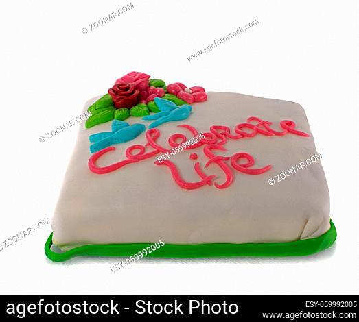 celebrate life cake for birthday