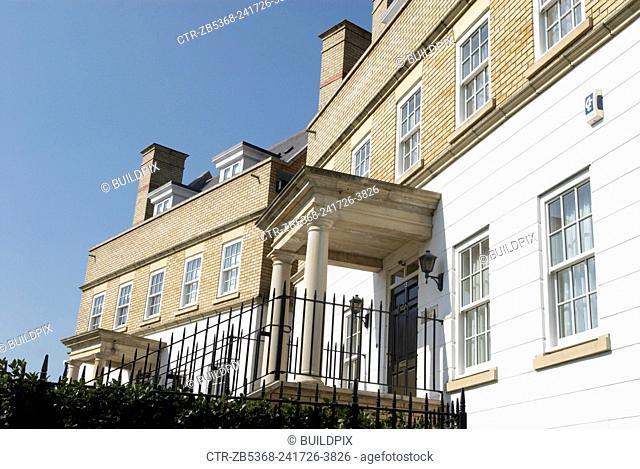 Luxurious modern housing development, Chelmsford, Essex, UK