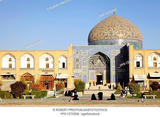 The Masjid-i Sheikh Lotfallah, Maydan Imam, Isfahan, Iran