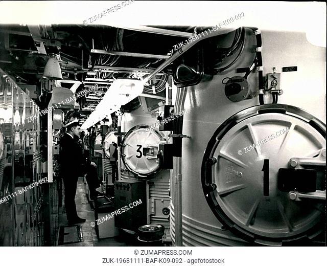 Nov. 11, 1968 - Commissioning Ceremony of H.M.S. Renown The commissioned ceremony of HMS Renown, the nuclear powered Polaris submarine