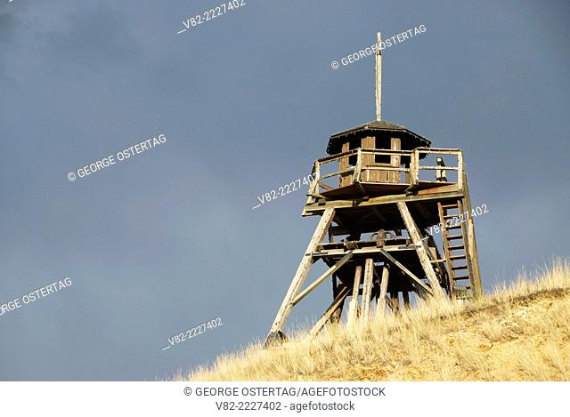 Old Fire Tower (Guardian of the Gulch), Helena, Montana