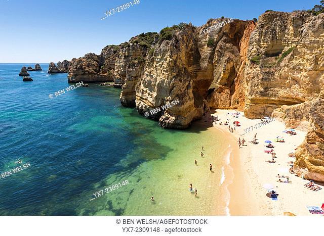 Praia Dona Ana, Lagos, Algarve, Portugal
