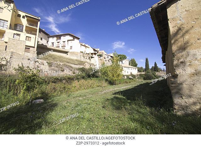 Rubielos de Mora village in Teruel, Aragon, Spain