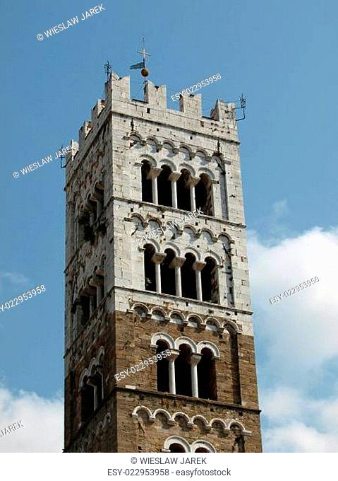 Lucca - the tower of St Martin's Cathedral