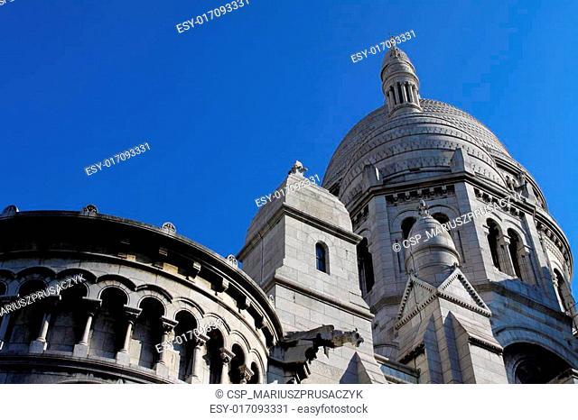 Sacre Ceure cathedral in Paris