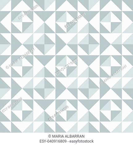 Abstract seamless pattern with triangles. Vector illustration