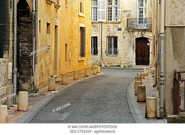 Rue duPont, Avignon, Vaucluse Department, Provence, France