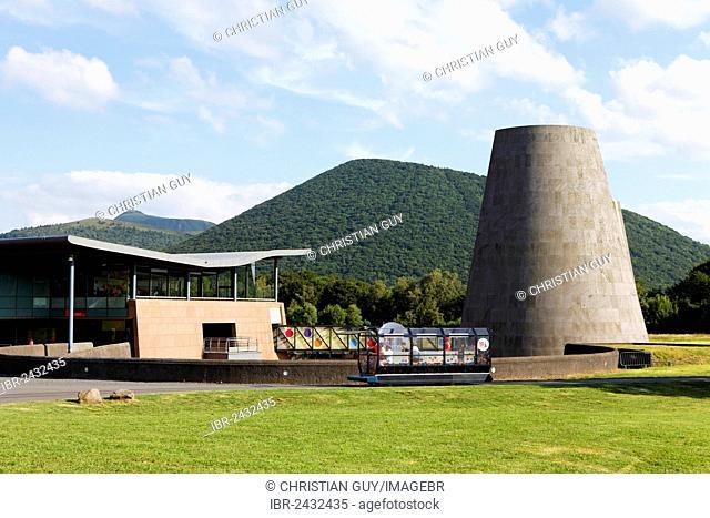 Vulcania, Theme and Leisure Park, European Park of Volcanism, Saint Ours, Parc Naturel Régional des Volcans d'Auvergne, Puy de Dome, Auvergne, France, Europe