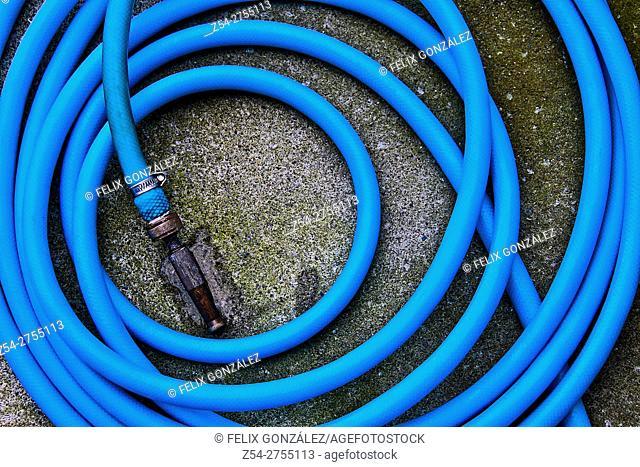 Garden hose Blue