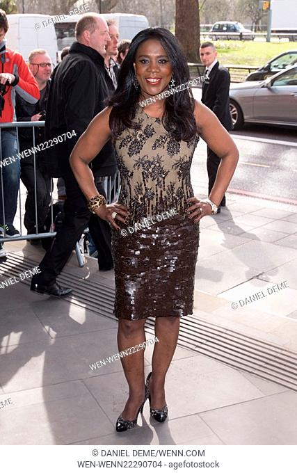 Tric Awards 2015 held at the Grosvenor House hotel - Arrivals Featuring: Tessa Sanderson Where: London, United Kingdom When: 10 Mar 2015 Credit: Daniel...