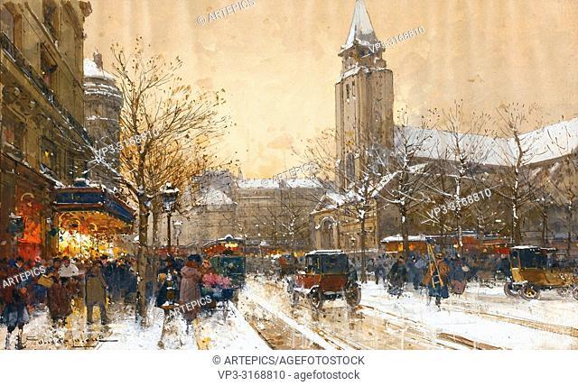 Galien-Laloue Eugene - Boulevard Saint-Germain Paris