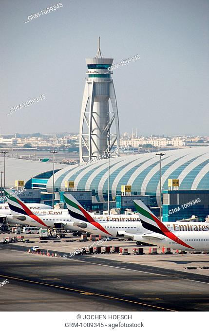 Terminal 3 of Dubai International Airport, Dubai, UAE