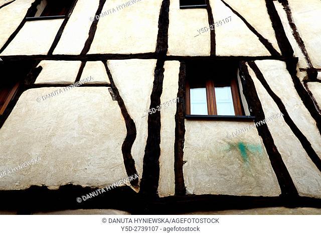 architectural detail, old town of Covarrubias. Ruta del Cid, Burgos province, Castilla-León, Castile and León, Castilla y Leon, Spain, Europe