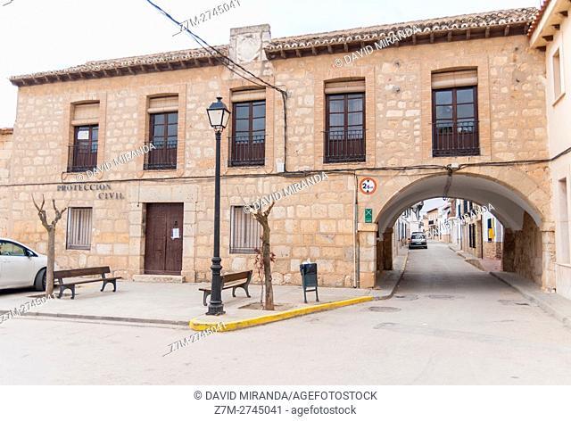 El Toboso, Toledo province, Castile la Mancha, Spain. Route of Don Quijote