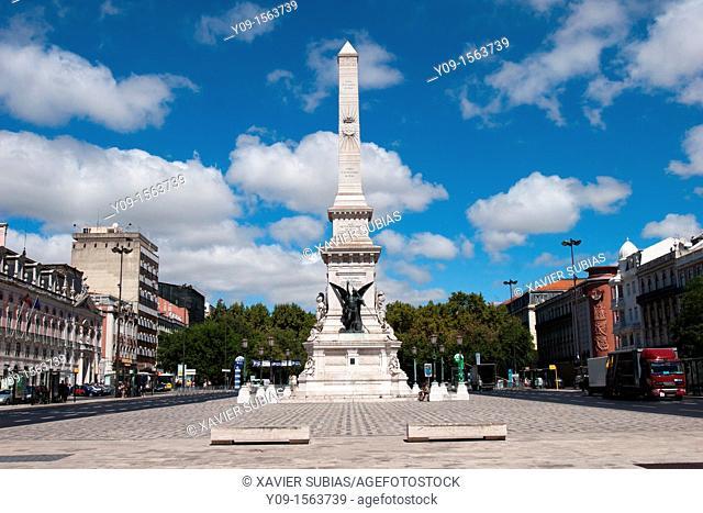 Restauradores Square, Lisbon, Portugal
