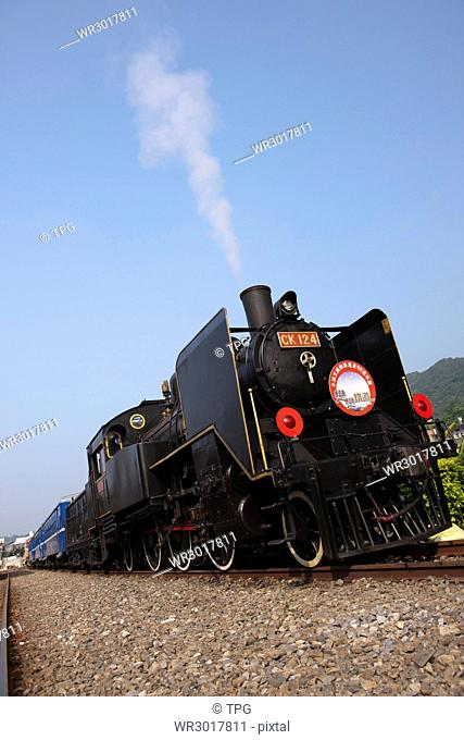 CK124 steam train