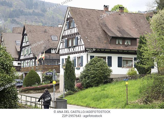 Sasbachwalden village, Black forest, Germany