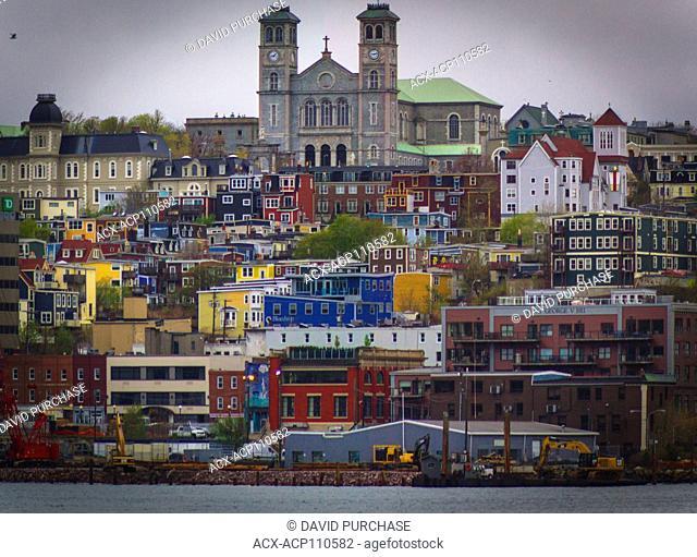 Downtown St. Johns, Newfoundland & Labrador