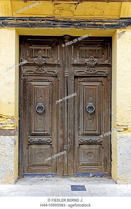 Front door, typical, old
