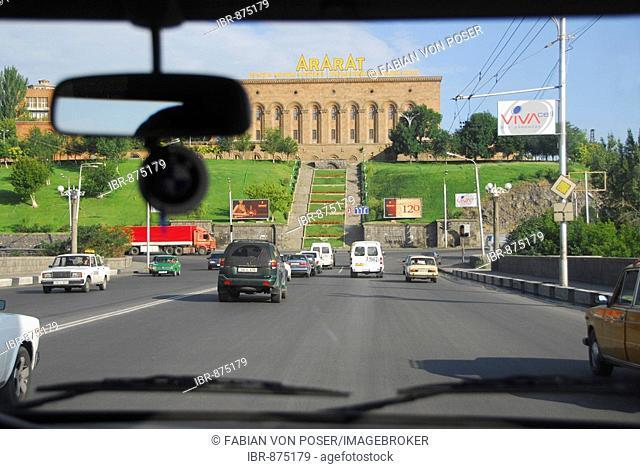 Street scene, Yerevan, Armenia, Asia