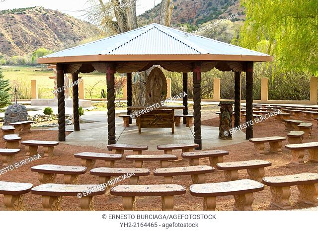 Easter at the Santuario de Chimayo during Holy Weel