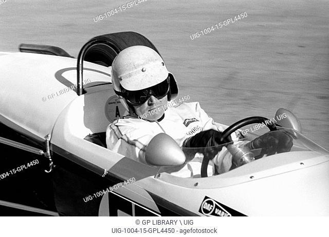 XI Grand Prix de Monaco. Mike Beckwith, Brabham BT21, finished 33rd