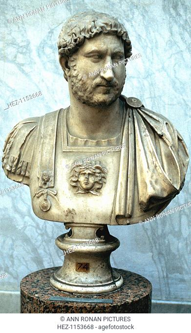 Hadrian, Roman Emperor from 117. Hadrian (Publius Aelius Hadrianus) (76-138) founded the city of Antinopolis in Egypt. His reign was also notable for the...