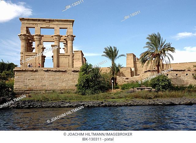 Temple of Philae, Trajan's Kiosk, Egypt, Africa