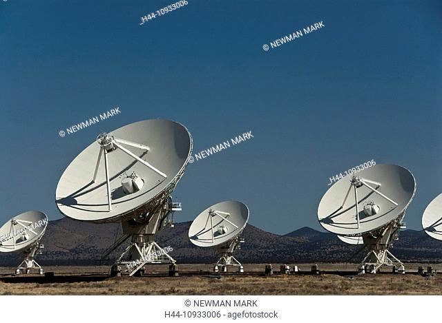 national, radio, astronomy, observatory, very large array, VLA, Socorro, New Mexico, USA, United States, America, satellite range, dishes, technology